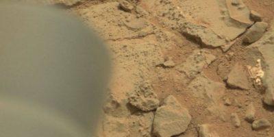 Esta es la imagen difundida por la NASA Foto:Foto: original en http://mars.jpl.nasa.gov/msl-raw-images/msss/00153/mcam/0153MR0008470180201260E01_DXXX.jpg
