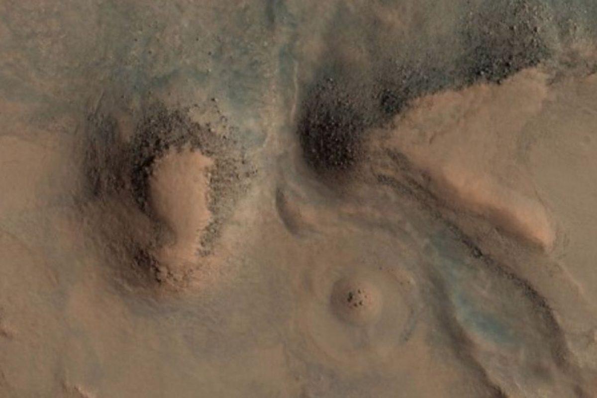 Esta es la imagen difundida por la agencia espacial Foto: http://hirise-pds.lpl.arizona.edu/PDS/EXTRAS/RDR/ESP/ORB_028800_028899/ESP_028891_2085/ESP_028891_2085_RGB.NOMAP.browse.jpg × 37 / 37