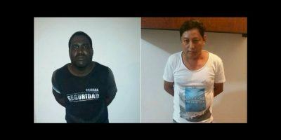 De acuerdo con una foto publicada en el Twitter del ministro del Interior de Ecuador, José Serrano Salgado, ellos son los presuntos asesinos. Foto:Twitter.com/ppsesa