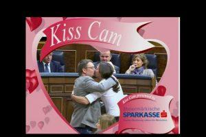 Así se burlan del beso en las redes sociales Foto:Vía Twitter