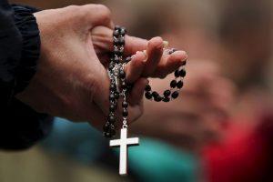 Este es un crucifijo en la Tierra Foto:Getty Images