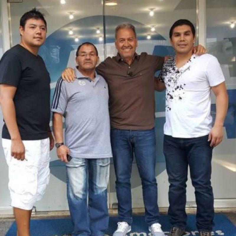 El 25 de enero pasado se cumplieron seis años del atentado contra Cabañas en un centro nocturno de México Foto:Vía instagram.com/oscar_marandu