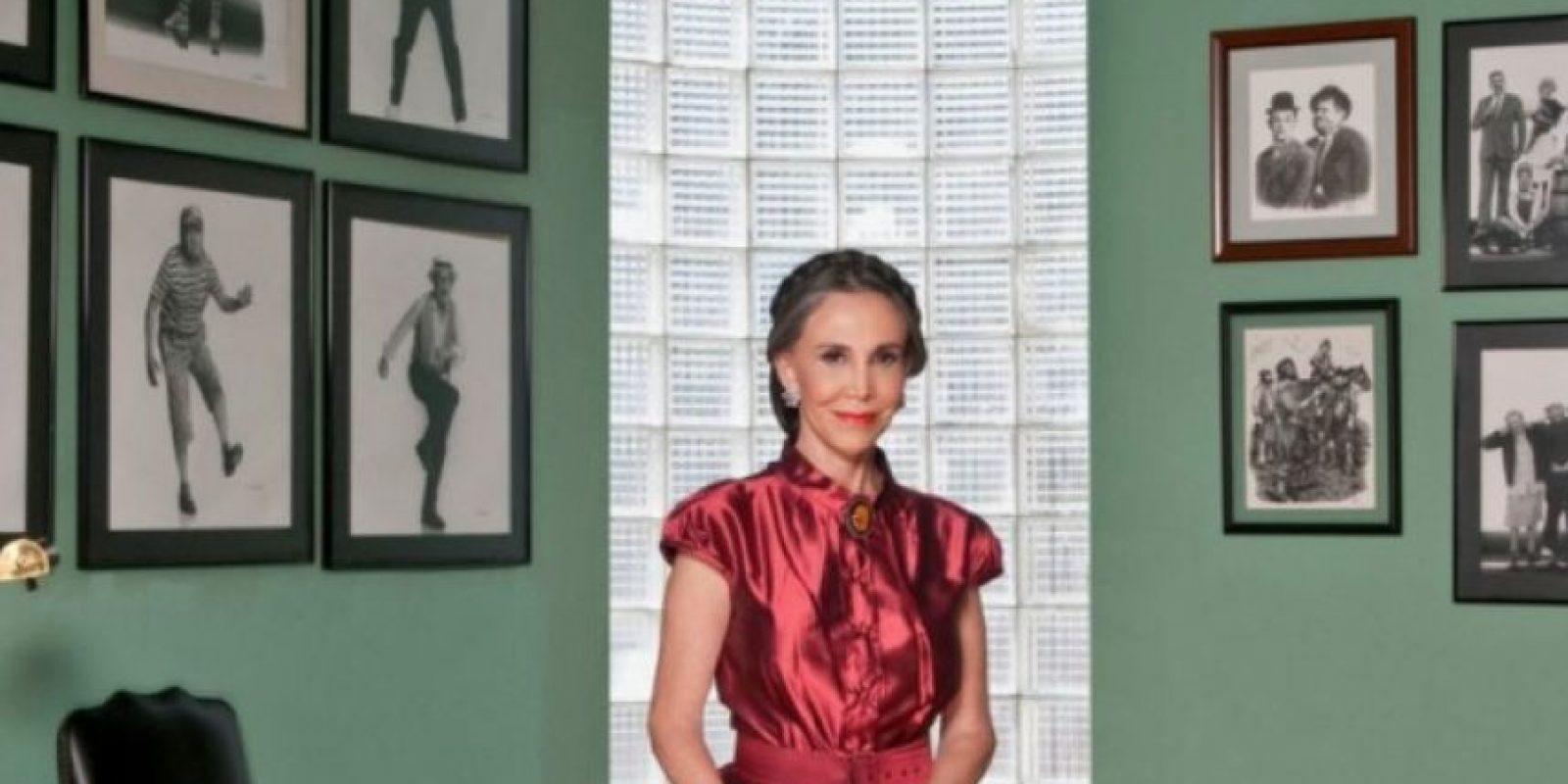 La viuda de Roberto Gómez Bolaños, Florinda Meza, sigue desconsolada a un año del fallecimiento del humorista mexicano. Foto:Vía Twitter/@FlorindaMezaCH