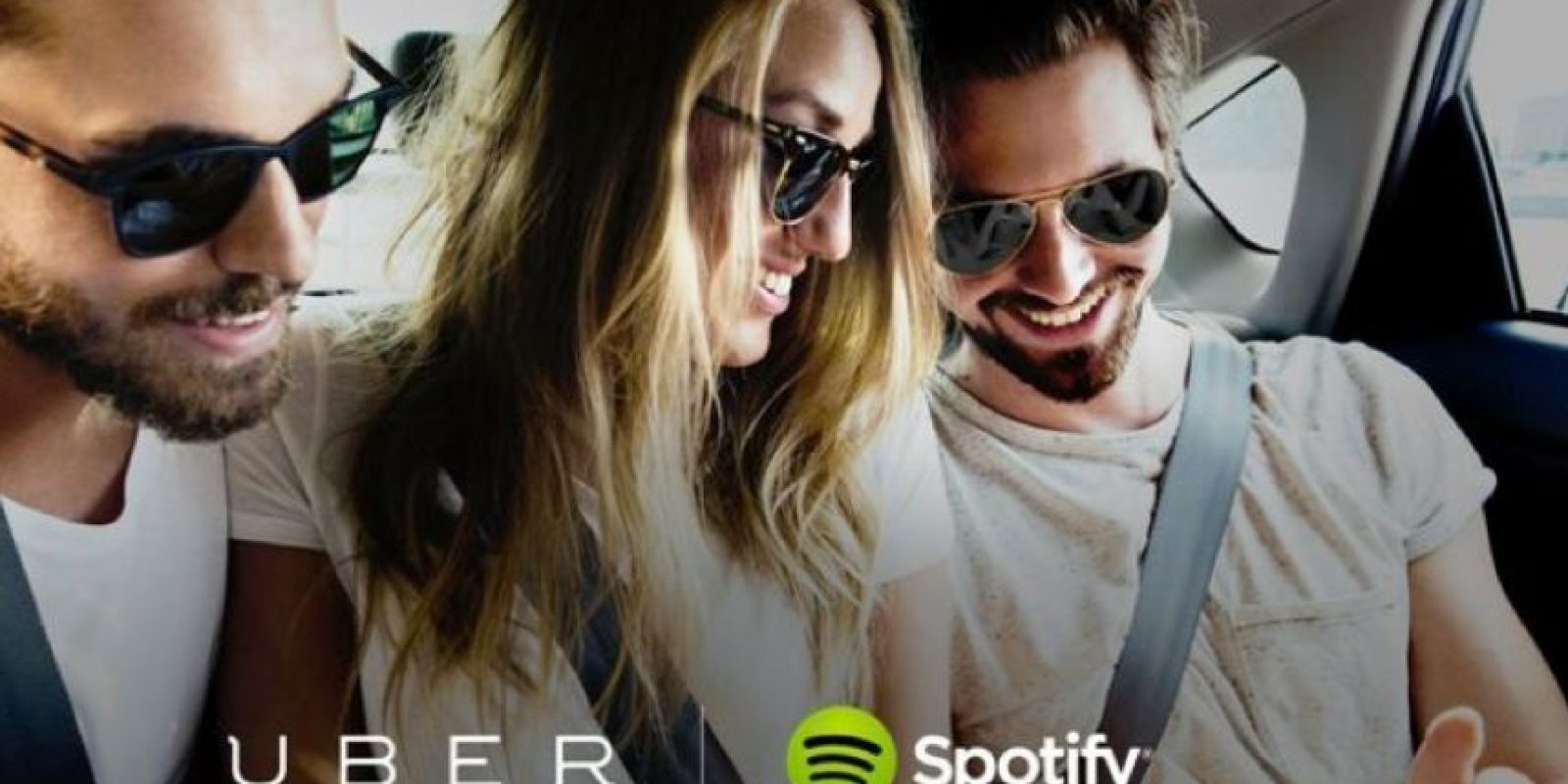 Ahora pueden disfrutar de sus listas de reproducción en Uber Foto:Spotify