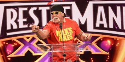 Hulk Hogan. El luchador profesional y actor cuestionado por el portal TMZ, aseguró que le gustaría ser compañero de Trump en su carrera por la presidencia del país Foto:Getty Images