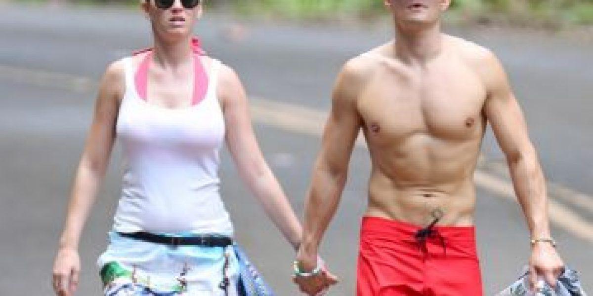 Katy Perry luce radiante después de sus vacaciones con Orlando Bloom