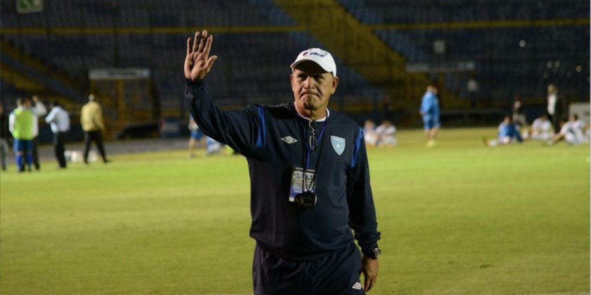 El técnico de la Selección Nacional Walter Claverí habla del triunfo ante El Salvador