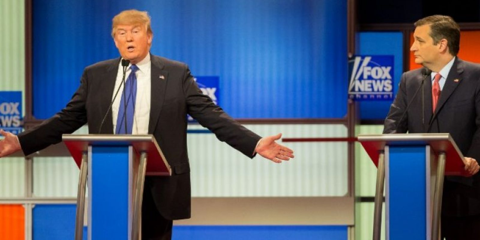 """Trump: """"Tengo el 49% en el proceso de votación, nadie tiene eso"""" Foto:AFP"""