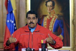 Minutos después del anuncio oficial de resultados electorales, Nicolás Maduro envió un mensaje a la nación Foto:AFP