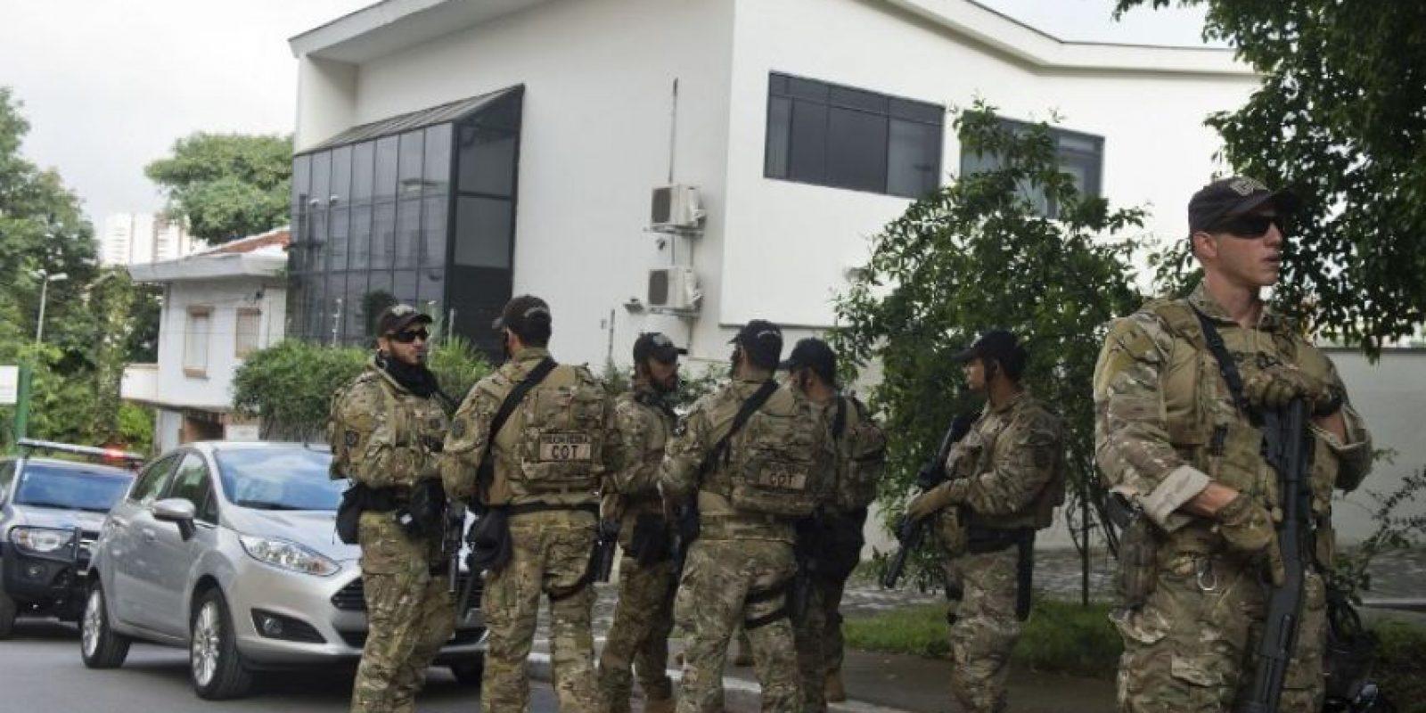 Y el expresidente detenido Foto:AFP