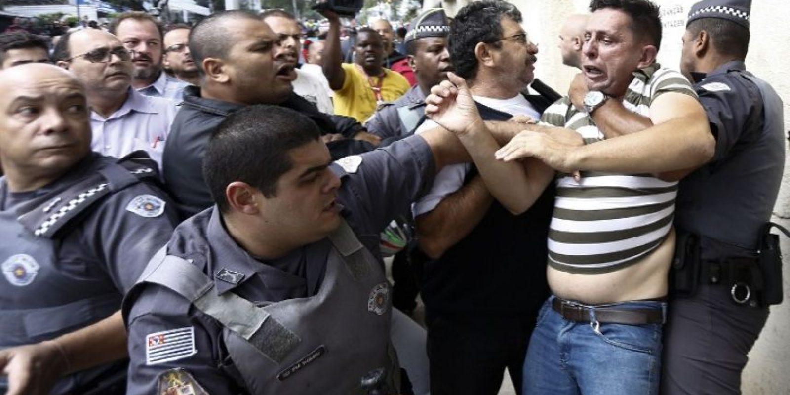 Principalmente entre policías y manifestantes Foto:AFP