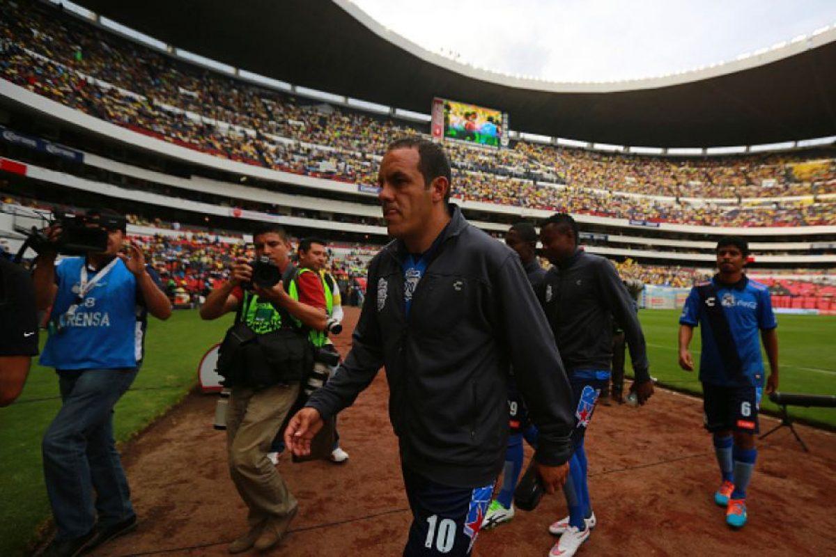 Blanco tenía pensado retirarse en junio de 2015, pero su incursión en la política adelantó la fecha de su adiós del fútbol rentado. Foto:Getty Images