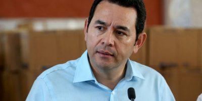 Los 22 gobernadores del presidente  Jimmy Morales