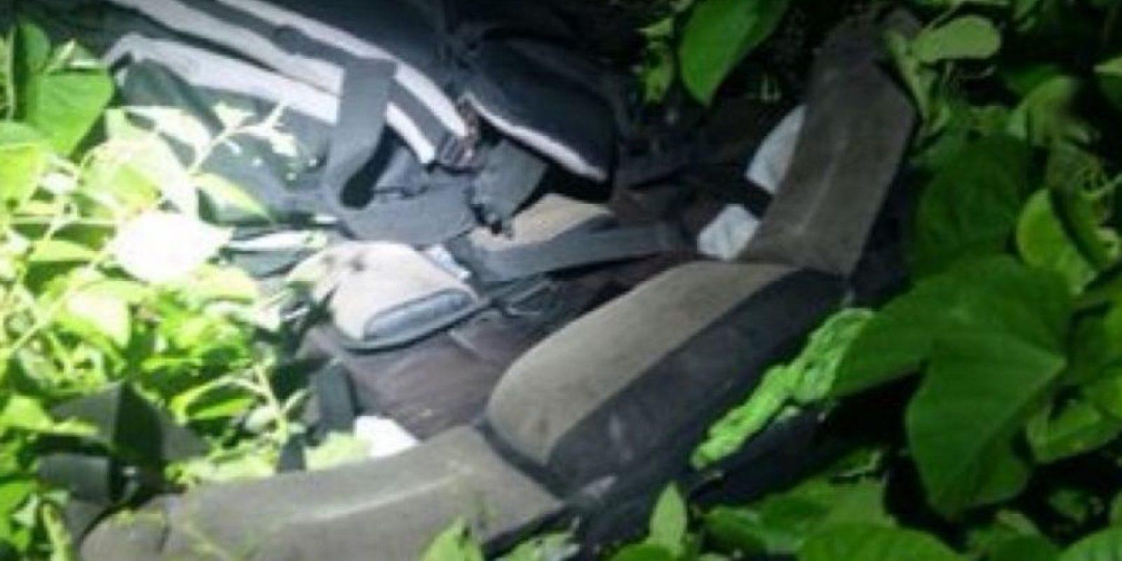 El ministro del Interior de Ecuador, José Serrano Salgado, difundió a través de su cuenta personal de Twitter, una serie de imágenes tomadas en el sector donde se habría cometido el brutal crimen Foto:Twitter.com/ppsesa