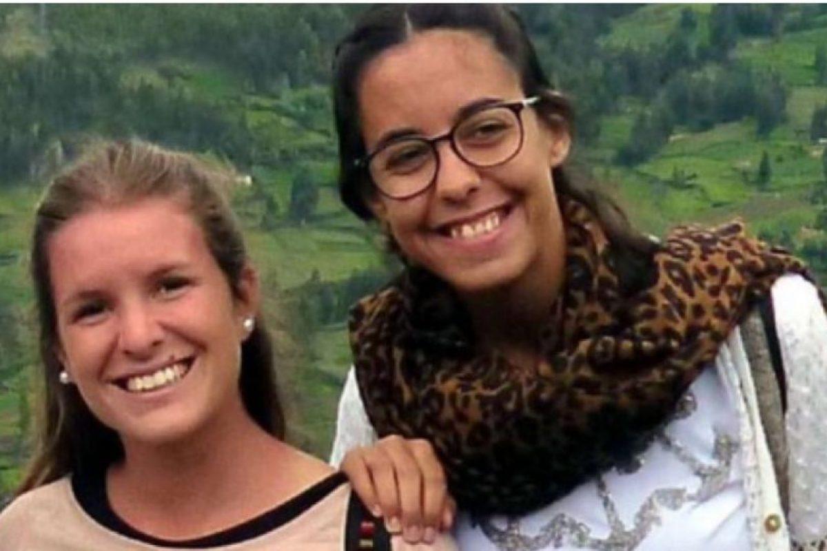 Marina Menegazzo, de 21 años y María José Coni, de 22 años, eran dos jóvenes argentinas de la provincia de Mendoza que fueron asesinadas en Ecuador. Foto:Twitter.com – Archivo