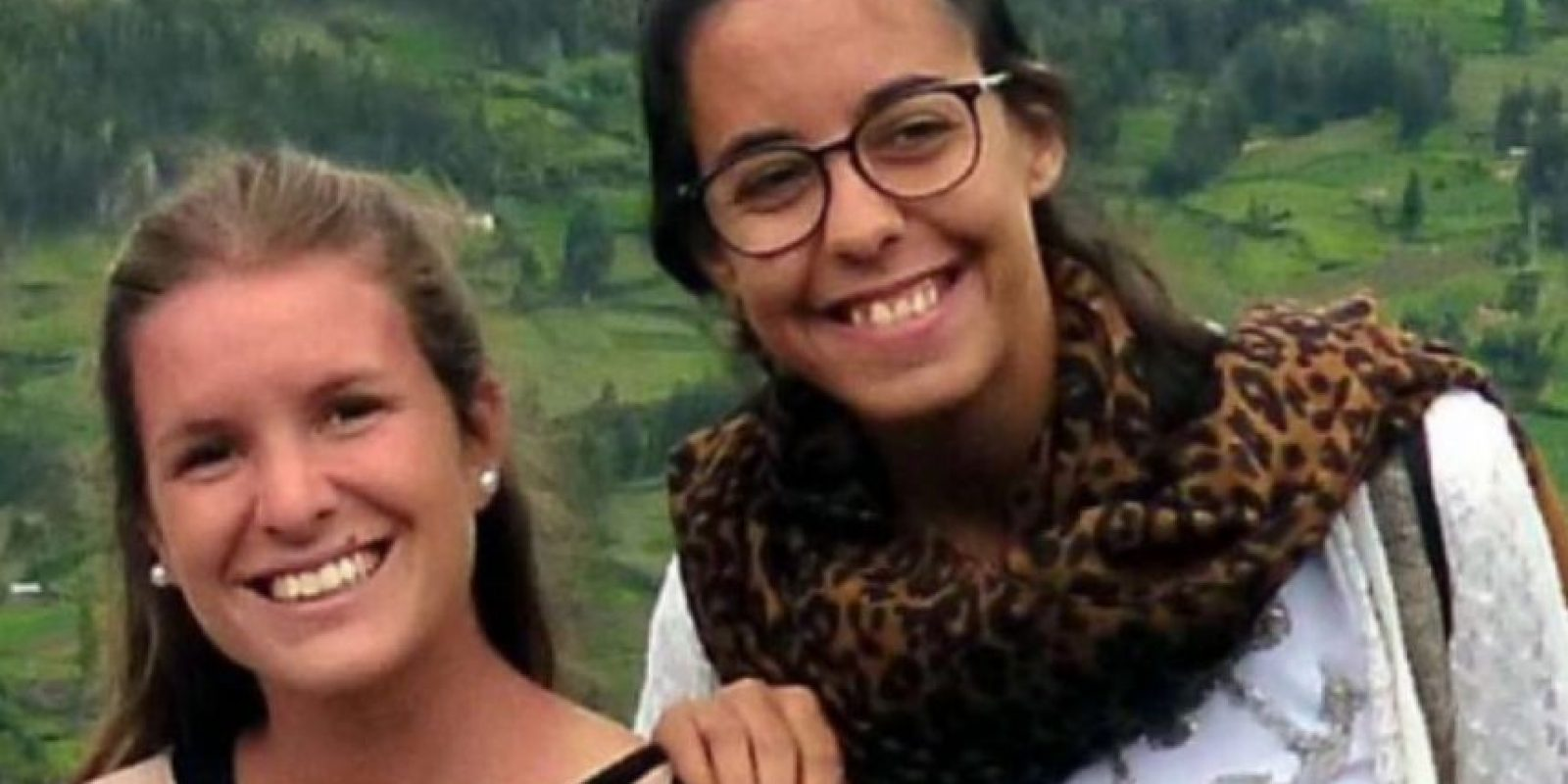 Marina Menegazzo, de 21 años y María José Coni, de 22 años, eran dos jóvenes argentinas de la provincia de Mendoza que fueron asesinadas en el pueblo de Montañita, en Ecuador, Foto:Twitter.com – Archivo