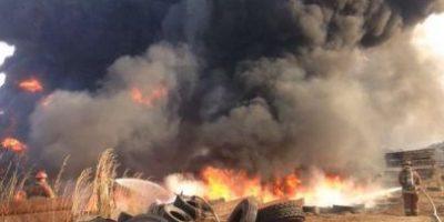 VIDEO. Dos incendios se registraron hoy en la ciudad de Guatemala