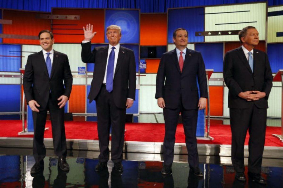 """""""La ropa de Trump se produce en México"""": Marco Rubio Foto:AP"""