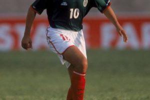 """Esto ocurrió cuando """"Temo"""" participó en el torneo """"Benito Juárez"""" e integró la selección de fútbol del Distrito Federal. Foto:Getty Images"""