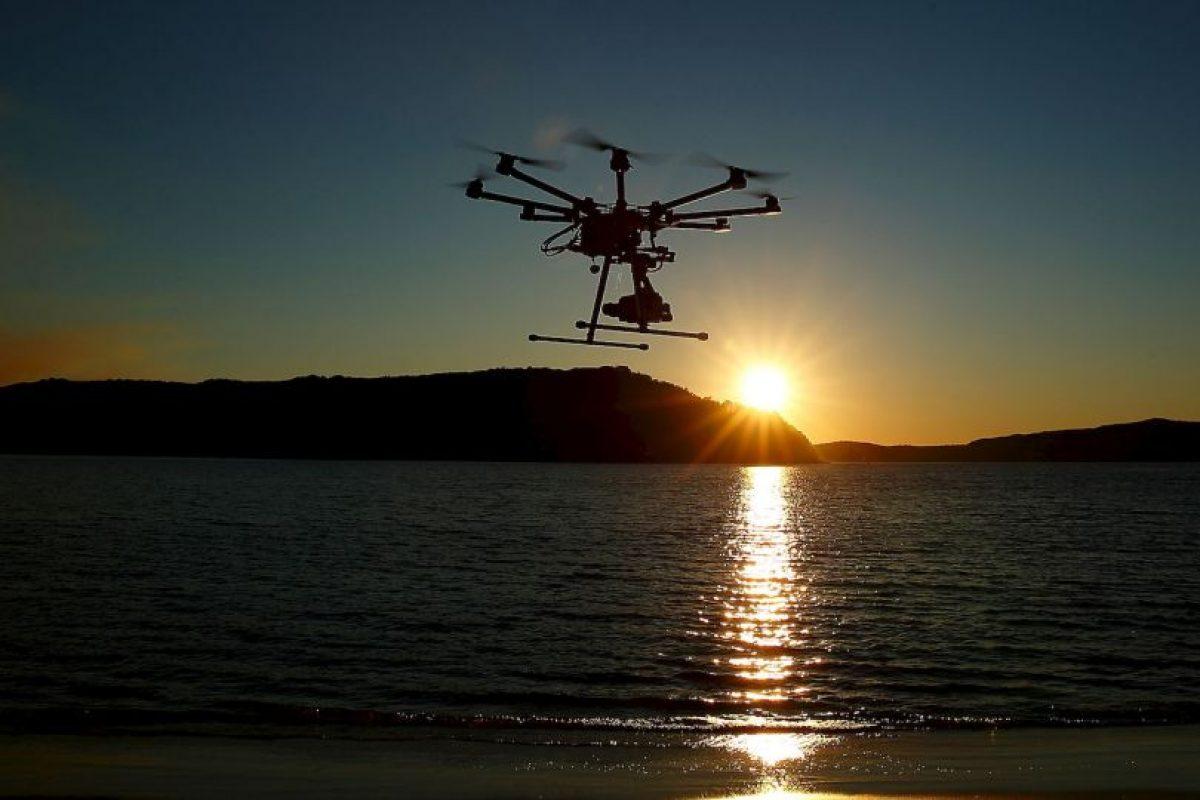 El dron es una aeronave que vuela sin tripulación. Foto:Getty Images