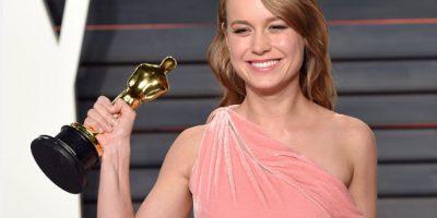 """Ganó el Oscar como Mejor Actriz por """"Room"""". Foto:vía Getty Images"""