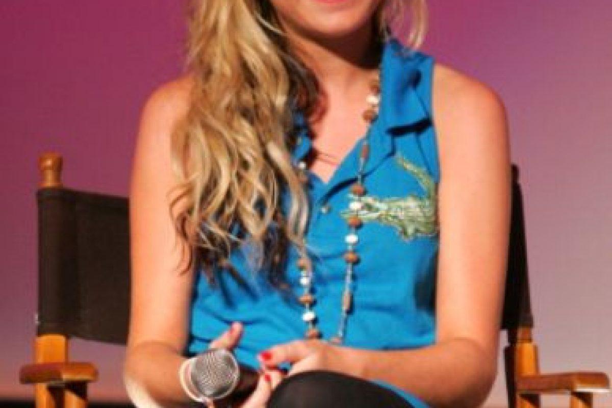 """Una especie de """"Hannah Montana"""". Foto:vía Getty Images"""