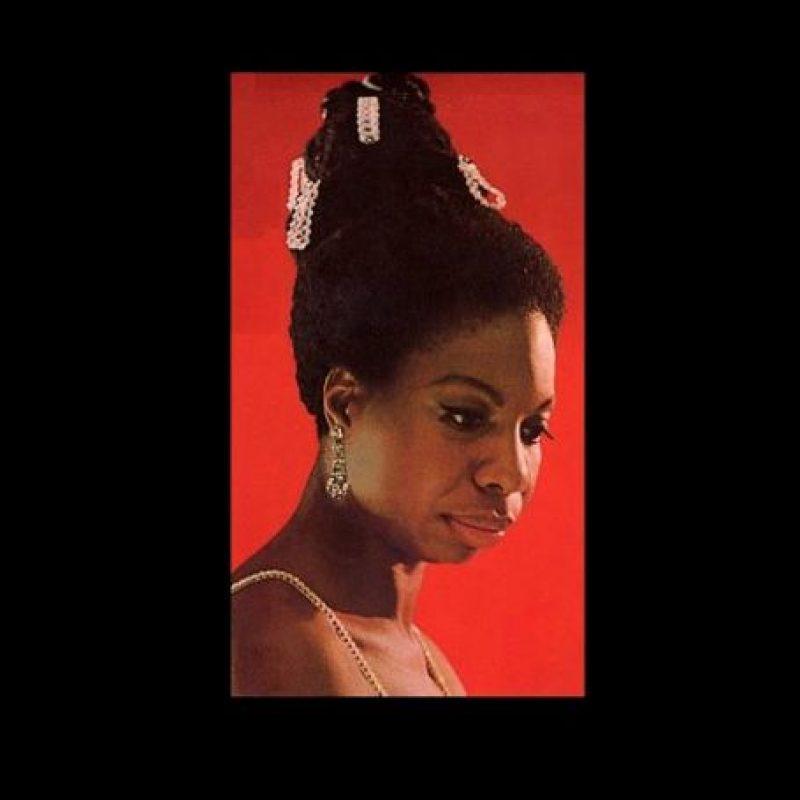 Fue un ícono de la música americana. Foto:Vía facebook.com/pages/Nina-Simone
