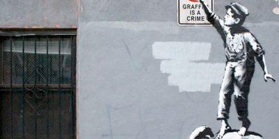 Ha hecho varios murales de sátira política. Foto:vía Getty Images