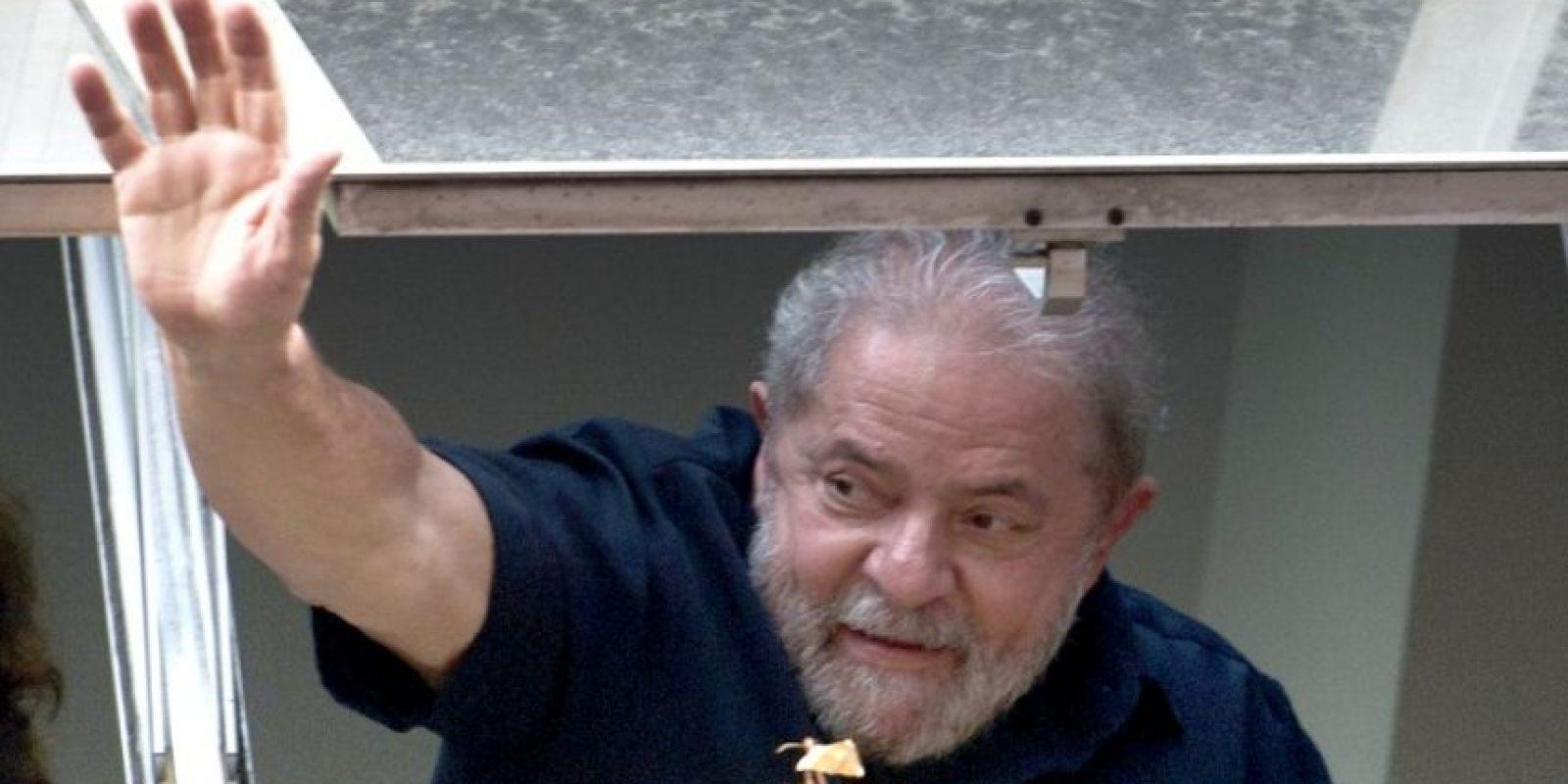 Interrogatorio al expresidente brasileño Foto:AFP