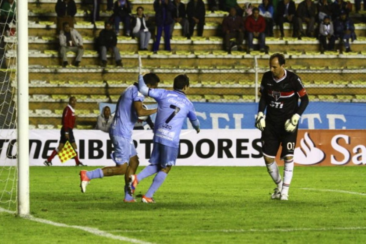The Strongest (2.8 MDE) vs. Bolívar (5.35 MDE) = 8.15 MDE Foto:Getty Images