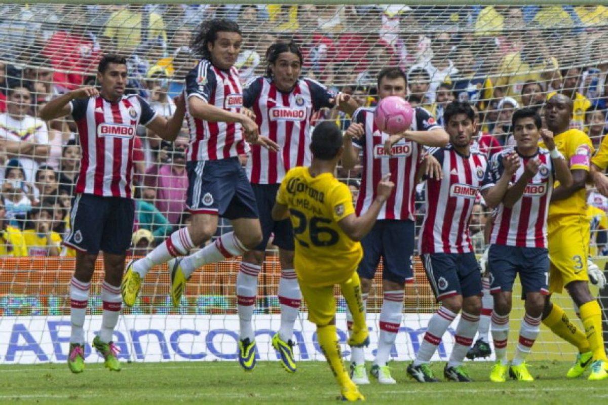4. Clásico de México: Foto:Getty Images