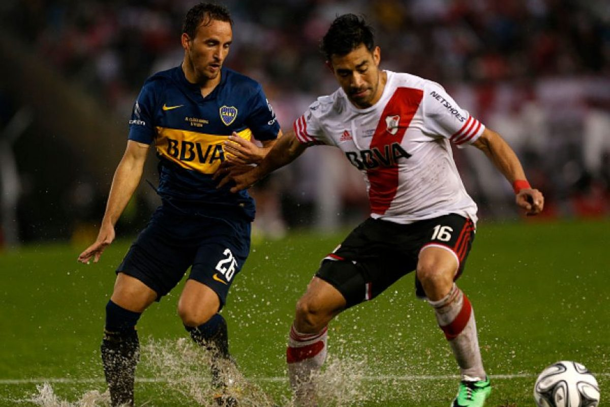 Boca Juniors (82.3 MDE) vs. River Plate (80.13 MDE) = 162.43 MDE Foto: Getty Images