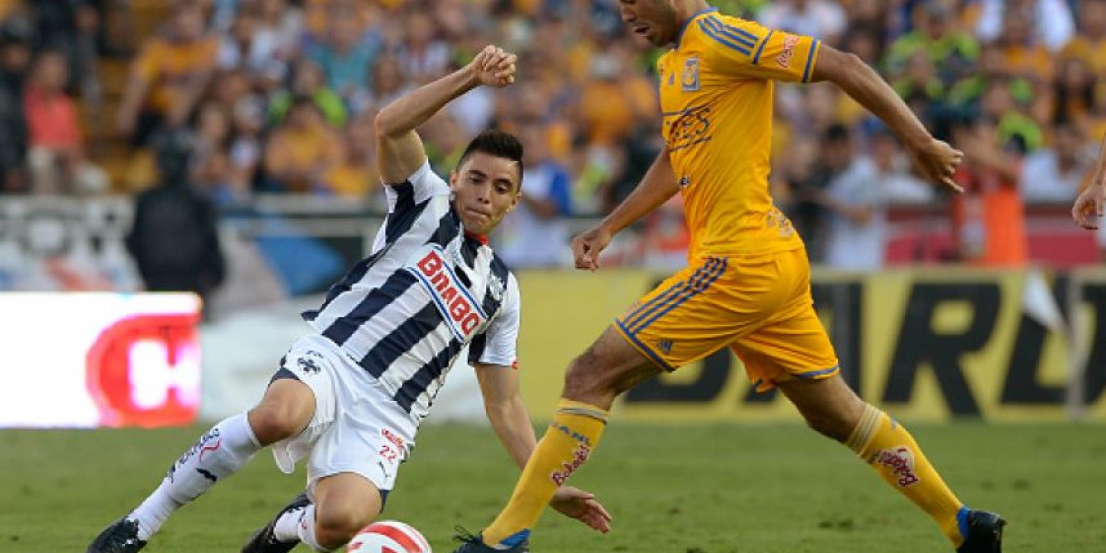 Monterrey (46.9 MDE )vs. Tigres (50.2 MDE) = 97.1 MDE Foto: Getty Images