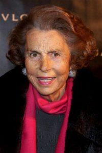 11. Liliane Bettencourt. Posee una fortuna de 36 mil millones de dólares. Su compañía, L'Oreal Foto:Getty Images