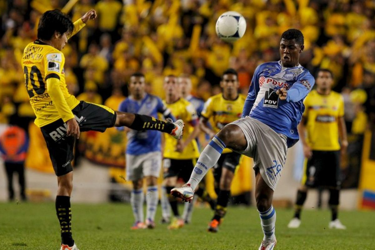 Emelec (22.8 MDE) vs. Barcelona de Guayaquil (22.5 MDE) = 45.3 MDE Foto:Getty Images