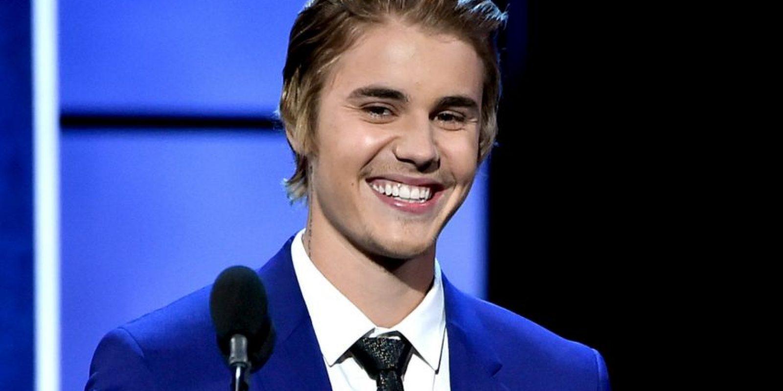 Bieber incursionó en la música a los doce años, subiendo sus videos a YouTube. Foto:Getty Images