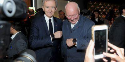 14. Bernard Arnault. Cuenta con 34 mil millones de dólares. Su compañía, LVMH. Foto:Getty Images