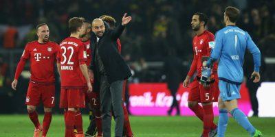 Los gestos airados de Guardiola no rompieron la paciencia del joven de 21 años, que aguantó el regaño sin decir nada. Foto:Getty Images