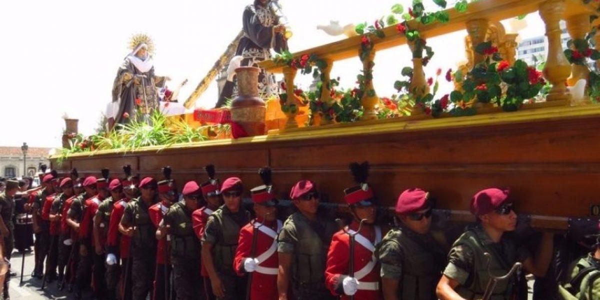 Procesión de Jesús Nazareno de la Guardia de Honor, Cuarto Domingo de Cuaresma
