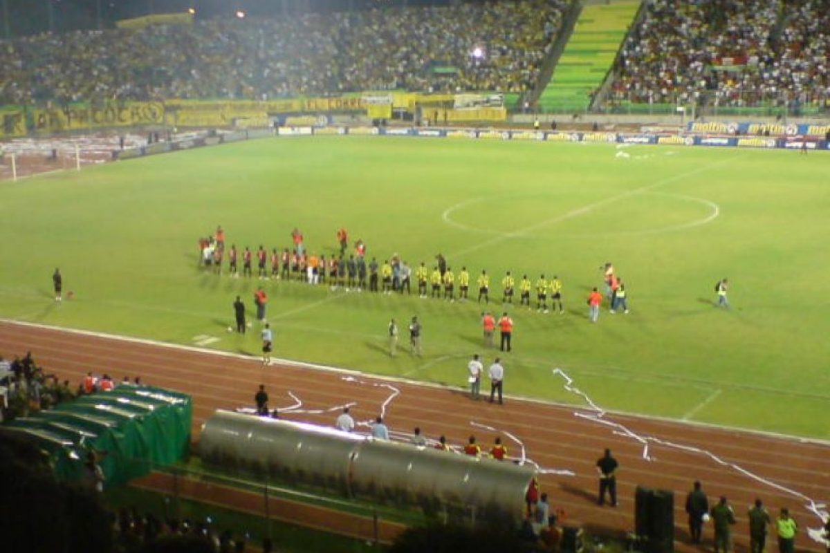 Caracas (0.75 MDE) vs. Táchira (1.93 MDE) = 2.68 MDE Foto:Wikimedia