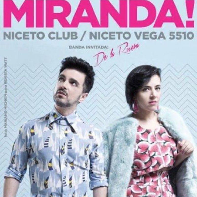 """Los dos volvieron a ser jurados en """"Los Elegidos"""". Foto:vía Facebook/ Miranda!"""