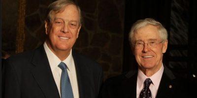David Koch y Charles Koch. Estos hermanos ocupan la posición 9 y 10 por la fortuna que cada uno tienen de 39 mil 600 dólares. Foto:marketplace.org