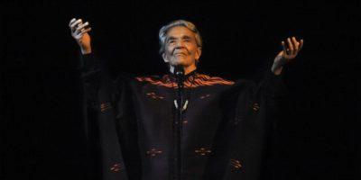 """6. Chavela Vargas / La """"maldición"""" de Ramsey la alcanzó cuando marcó el 4 de agosto de 2012 y al día siguiente murió la cantante. Foto:Getty Images"""