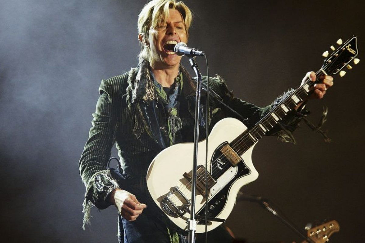16. David Bowie /Este 2016, Ramsey anotó el 9 de enero y el músico británico David Bowie murió dos días después. Foto:Getty Images