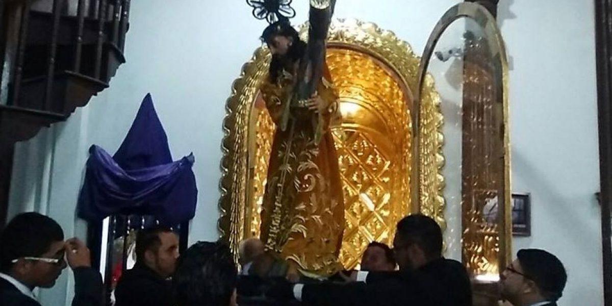 Procesión de Jesús Nazareno Justo Juez de Capuchinas, Cuarto Domingo de Cuaresma 2016