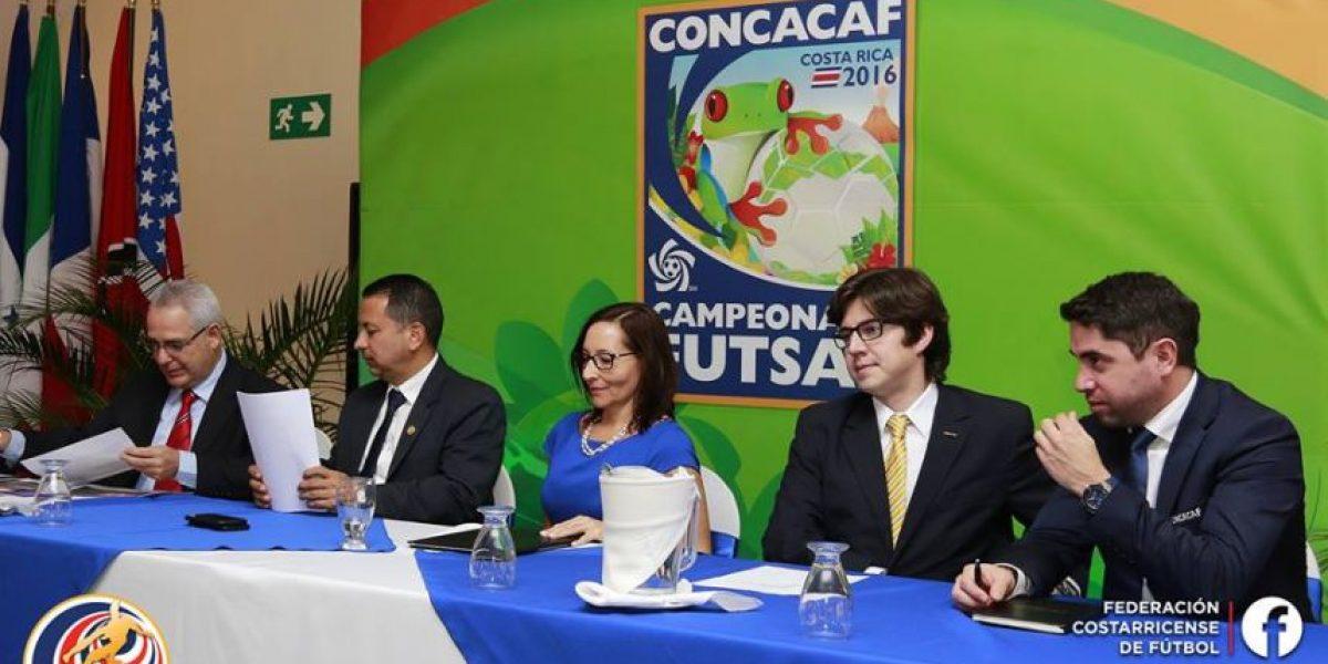 Presentan el logo del Premundial de Futsal Costa Rica 2016