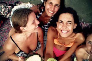Las jóvenes habían visitado Ecuador, junto otro par de amigas. Foto:Vía instagram.com/marina.menegazzo