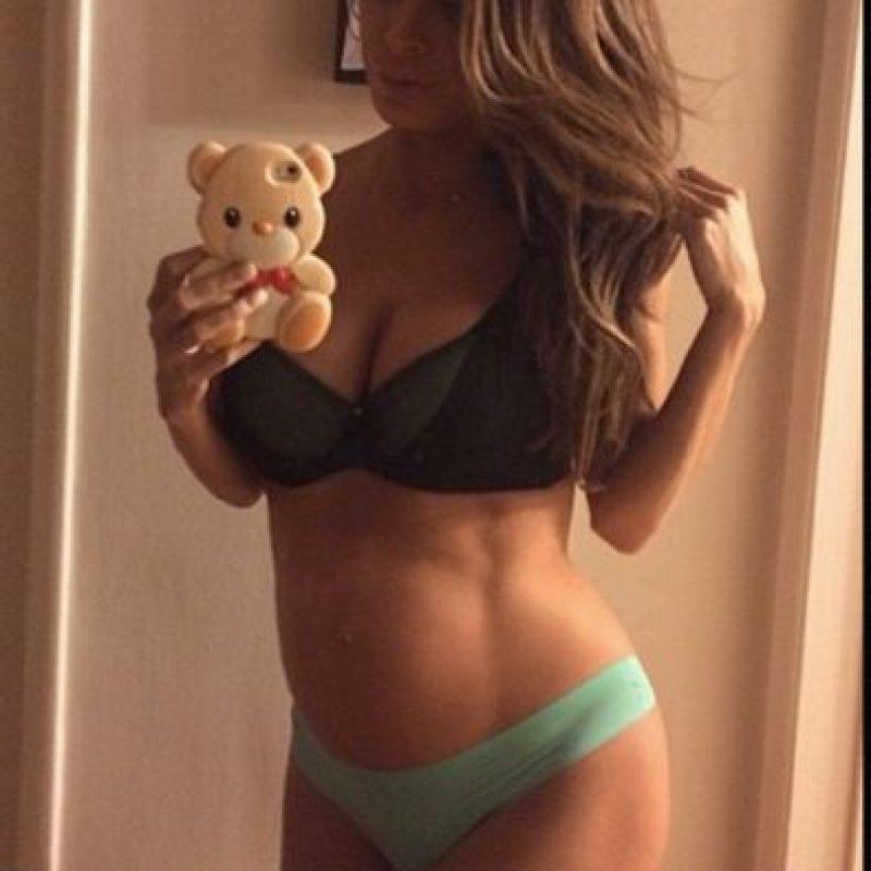 Fue polémica por su embarazo. Foto:vía Instagram