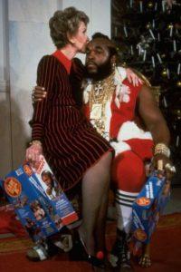 """Ella fue muy famosa por su campaña """"Say no to Drugs"""" en los 80. Foto:vía Getty Images"""