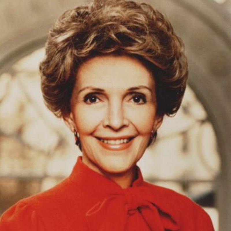 Nancy Reagan fue Primera Dama de California. Foto: vía Getty Images